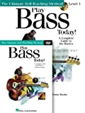 Play Bass Today! Beginner's Pack: Book/DVD/Online Audio Pack (Play Today Instructional Series)