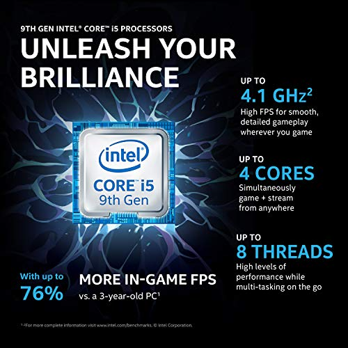 HP Pavilion Gaming 9th Gen Intel Core i5 Processor 15.6-inch Laptop (Core i5-9300H/8GB/512GB SSD/Windows 10 Home/4GB NVIDIA GeForce GTX 1650 Graphics/Shadow Black), 15-dk0268tx