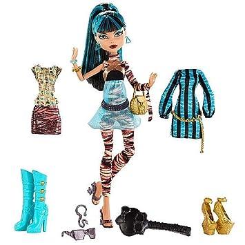 Worksheet. Amazoncom Monster High I Heart Fashion Cleo De Nile Doll Set