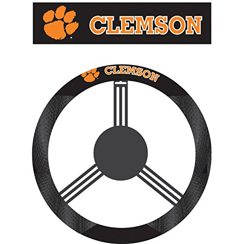 steering wheel cover clemson - 7