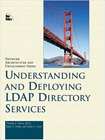 Macmillan Network Architecture and Development Series Understanding and Deploying Ldap Directory Services