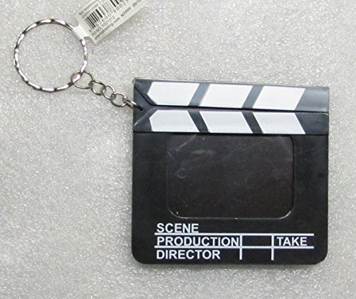 Directors Photo Movie FILM CLAPBOARD Pendent KEY CHAIN Ring Keychain NEW ()