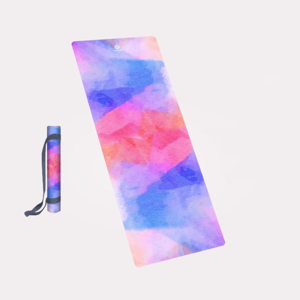 Amazon.com : Yoga mat, Profession Foldable 4MM Yoga Blanket ...
