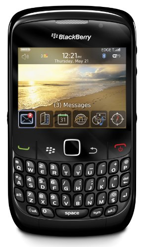BlackBerry 8520 Unlocked Phone with 2 MP Camera, Bluetooth, Wi-Fi--International Version with No Warranty (Black) - coolthings.us