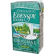 Eden Foods Organic Eden Soy Extra Original Beverage, 32 Ounce Each - 12 Per Case.
