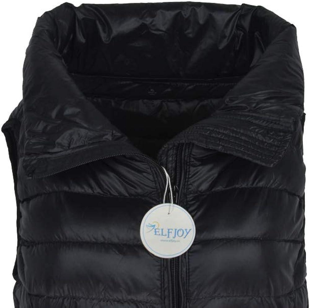 Women's Mid Long Down Vest Lightweight Puffer Vest Coat Jacket Stylish Windbreaker at  Women's Coats Shop