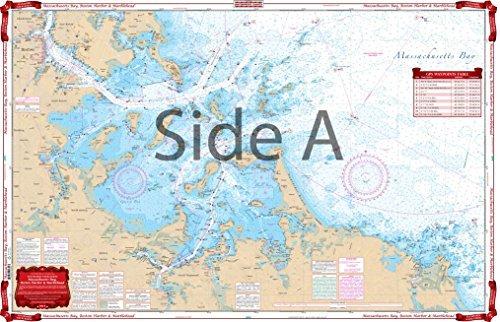 Waterproof Charts, Standard Navigation, 65 Massachusettes Bay, Boston Harbor, and Marblehead (Boston Harbor Chart)