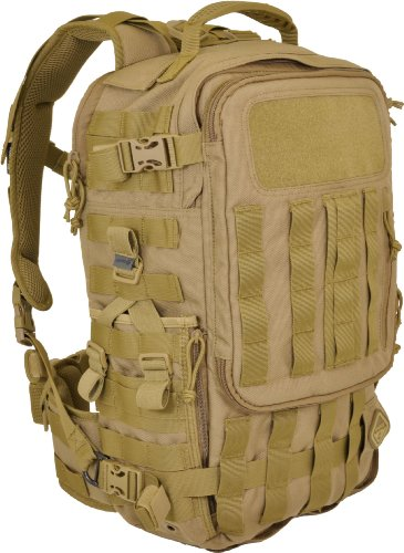 Hazard 4, Zaino SecondFront, Marrone (Coyote), 45 x 27 x 16 cm, 19,4 litri