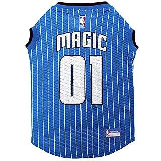 NBA ORLANDO MAGIC DOG Jersey, X-Large - Tank Top Basketball Pet Jersey