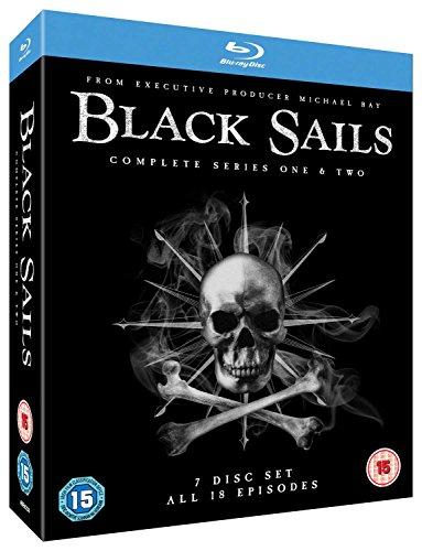 Black Sails (Complete Seasons 1 & 2) - 7-Disc Box Set ( Black Sails - Seasons One and Two (18 Episodes) ) [ Blu-Ray, Reg.A/B/C Import - United Kingdom ]