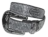 Harley-Davidson Women's Embellished Crystal Saturday Night Belt HDWBT10044