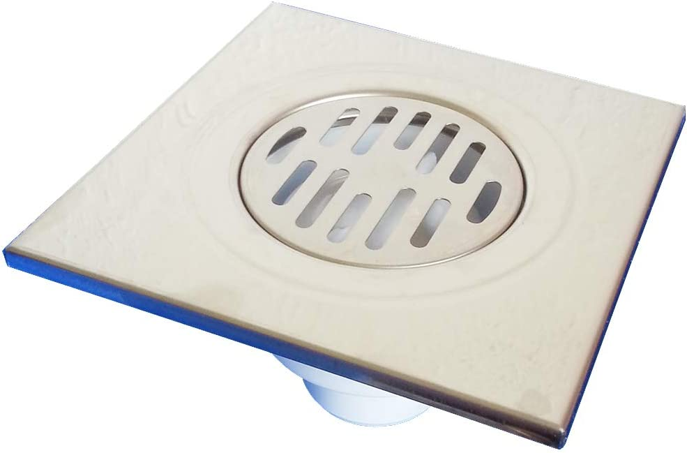 15x15 Duschrinne Geruchsverschluss Duschablauf Bodenablauf DN50 21604