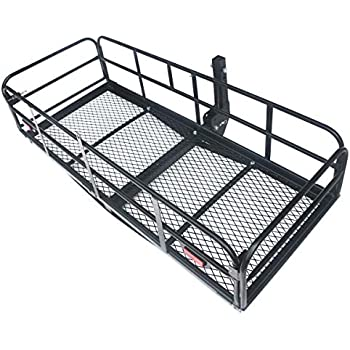 Amazon Com 507lbs Cargo Carrier Rack Luggage Basket Hitch