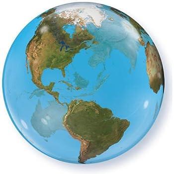 Amazon qualatex planet earth plastic bubble balloon 22 home qualatex planet earth plastic bubble balloon 22 gumiabroncs Choice Image