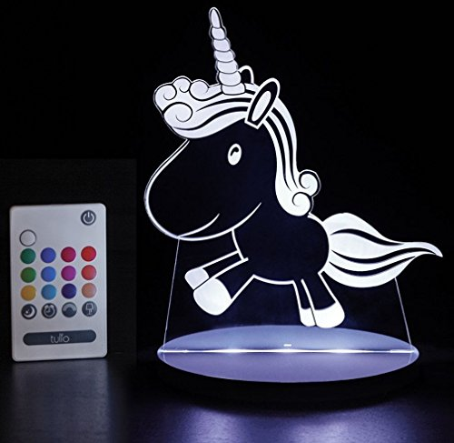 - Tulio Dream Lights Prancing Unicorn Multi-Use, Multi-Color Night Light
