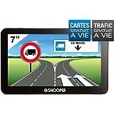Snooper PL 6600 Truckmate GPS Eléments Dédiés à la Navigation Embarquée Europe Fixe, 16:9