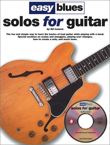 Easy Blues Solos for Guitar (Piano Sheet Music Easy Adult)