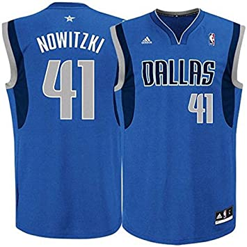 NBA Dirk Nowitzki, Dallas Mavericks Swingman Jersey Camiseta - Nuevo, azul: Amazon.es: Deportes y aire libre