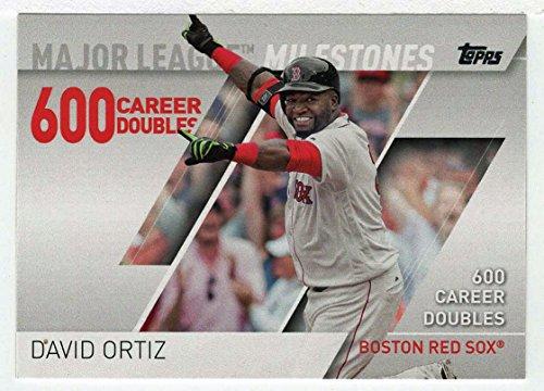 David Ortiz (Baseball Card) 2017 Topps Major League Milestones # MLM-13 Mint