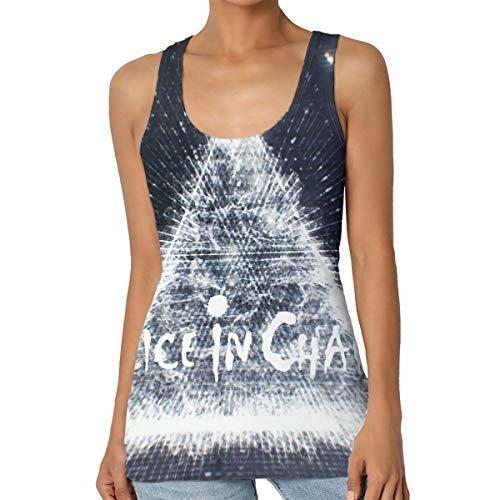- Alice in Chains Women's Tank Tops Halter Racerback Yoga Shirt XXL Black