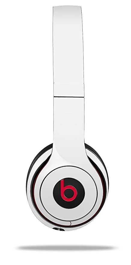 67162abe389 Amazon.com: WraptorSkinz Skin Decal Wrap for Beats Solo 2 and Solo 3  Wireless headphones Solids Collection White (BEATS NOT INCLUDED): Home  Audio & Theater