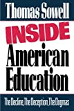 Inside American Education, Thomas Sowell, 0029303303