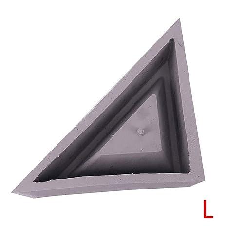 Elenxs Concreto Planter de Silicona del Molde geométricas ...
