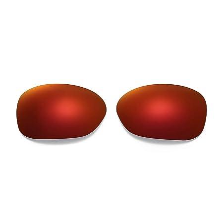 2fe496e4c446c Amazon.com   Walleva Polarized Fire Red + Ice Blue Replacement Lenses  Oakley Pulse Sunglasses   Sports   Outdoors