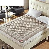 DHWJ Tatami Mattress,Student The Economy Padded Mattress,Green Bed mat-A 90x200cm(35x79inch)