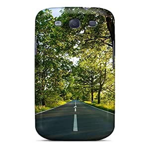 Awesome Case Cover/galaxy S3 Defender Case Cover(one Path Summer Landscape)
