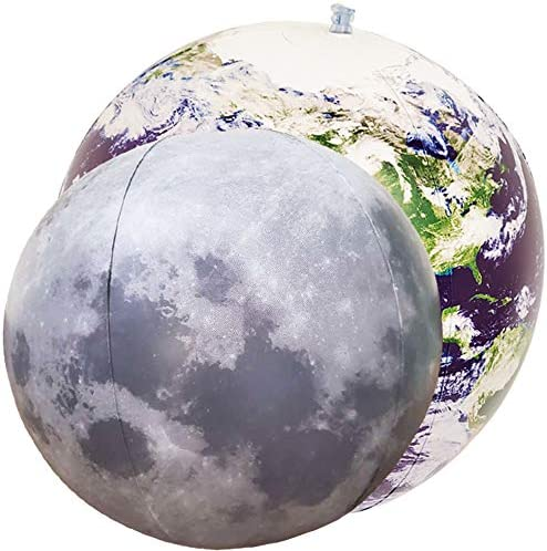 Jet Creations 16 inch NASA imagery Inflatable Earth Globe Great Toys for 6+ years old Kids Boys Girls and Adults View from Space Learning Educational Party Decorations and Favors GTO-16AEG