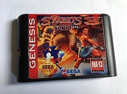 Streets of rage 3 sonic edition free region euro shell