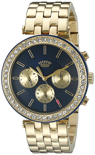 Juicy Couture Women's Quartz Tone and Gold Plated Casual Watch(Model: 1901334) -  Movado Group Inc, dba Juicy Couture
