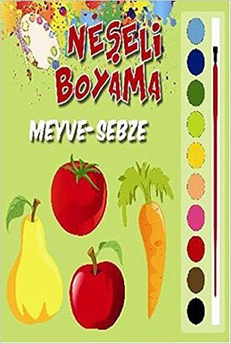 Neseli Boyama Meyve Sebze Kolektif 9786051005966 Amazoncom Books