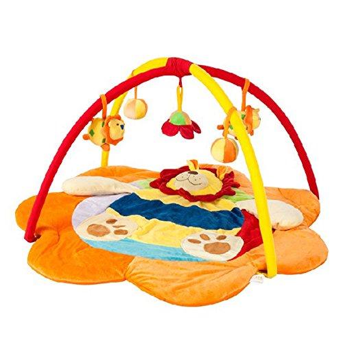 JYSPORT Alfombras de juego y gimnasios bebés animalitos gimnasio para manta de juegos manta juguetes educativos (Animal park)