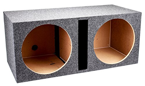 Q Power Dual 15-Inch Vented Unloaded Box (15 Speakers With Box)