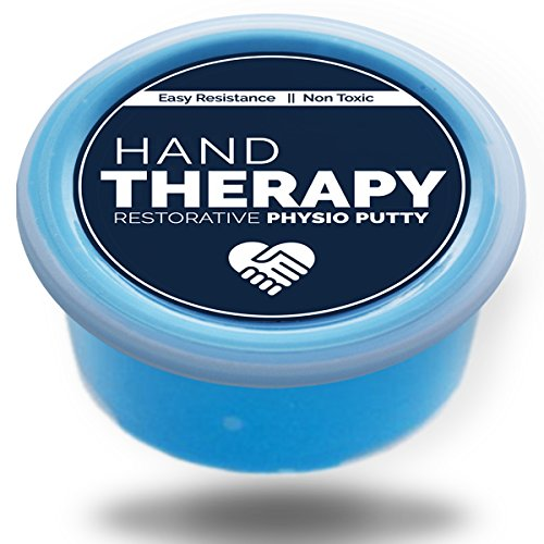 Therapist Grade Premium Hand Putty - 3OZ Hand Rehabilitation, Strengthening, and Restoration - Physio Stress Relief Putty By Hand (Hand Exercise Putty)