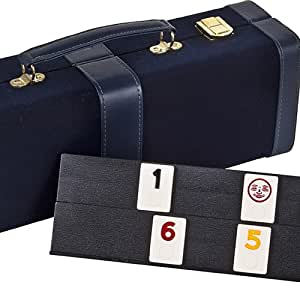 Orchard Street Deluxe Designer Rummy Game Set with LARGE Standard Size Numbers