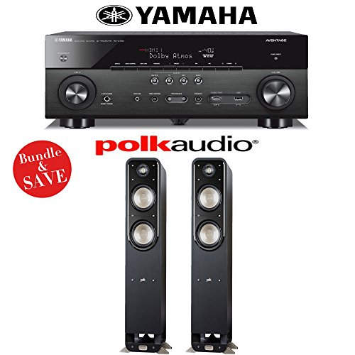 Yamaha aventage rx a760 yamaha rx a760bl 7 2 channel for Yamaha aventage rx a3000
