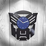 Transformers The Last Knight Handmade Vinyl Wall Clock, Art, Comics, Movie Marvel DC, Home Decor, Wall Art, Home Decorations For Living Room Inspirational, Best Gift For Her, Unique Design, Home Decor