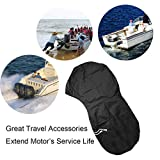 Boat Motor Covers, FLYMEI Outboard Motor Cover with