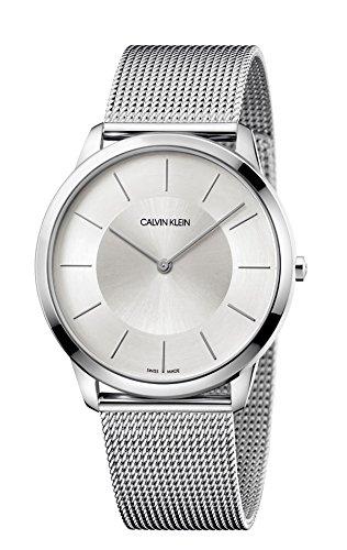 Calvin Klein watch CK Minimal K3M2T126 Silver dial
