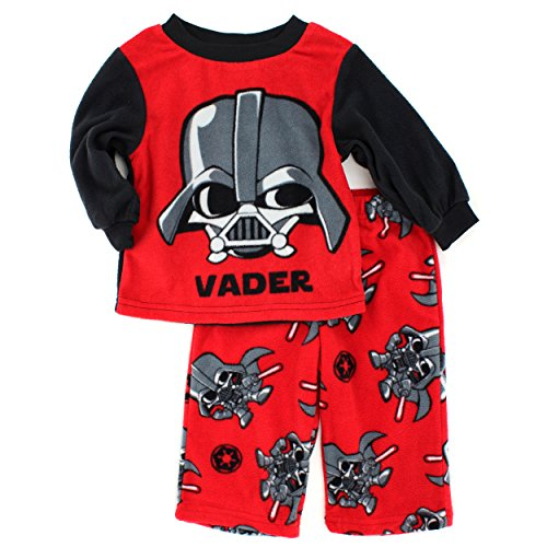 Star Wars Boys Fleece Pajamas (2T, Red Baby Vader) for $<!--$14.88-->