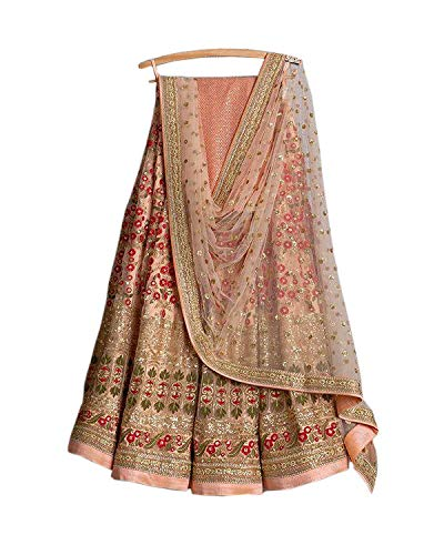 party wear wedding bridal embroidery work lehenga choli trendy culture - Lehenga Bridal Indian