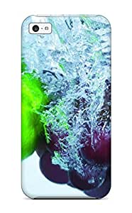 LJF phone case Excellent iphone 4/4s Case Tpu Cover Back Skin Protector Food Berry