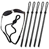 Attmu Sports Sunglass Holder Strap, Safety Glasses Eyeglasses Neck Cord String Eyewear Retainer Strap pack of 5