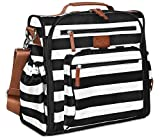 Diaper Bag Backpack by Hip Cub - Convertible W/Cute Designer Baby Changing Pad