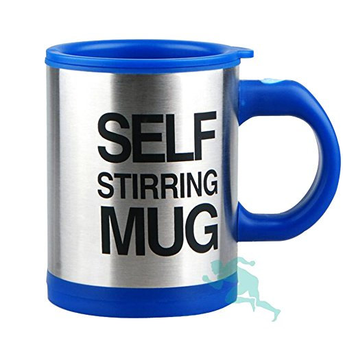 Self Stirring Coffee Mug(Yellow) - 4