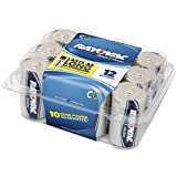 Rayovac Alkaline C Batteries, 814-12PP, 12-Pack with Recloseable Lid