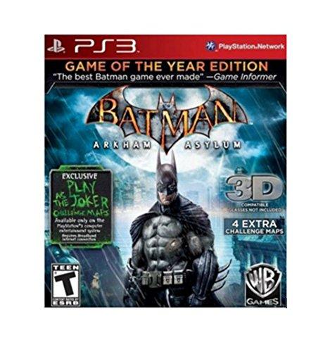Batman: Arkham Asylum -- Game of the Year Edition (PlaySt...